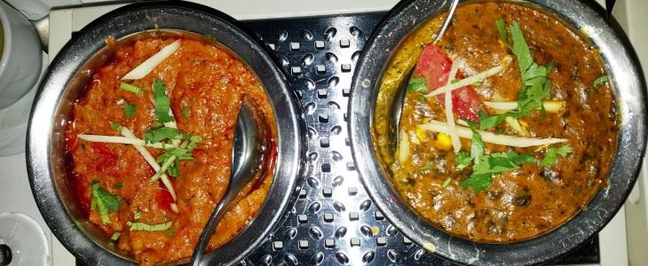 Bhartha & Palak Tofu