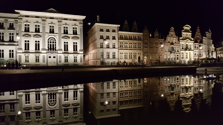 Gent at night 2