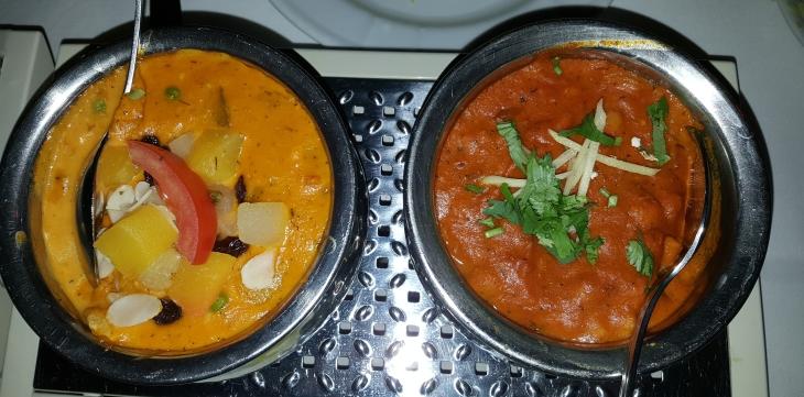 Korma & Alu Chana Masala