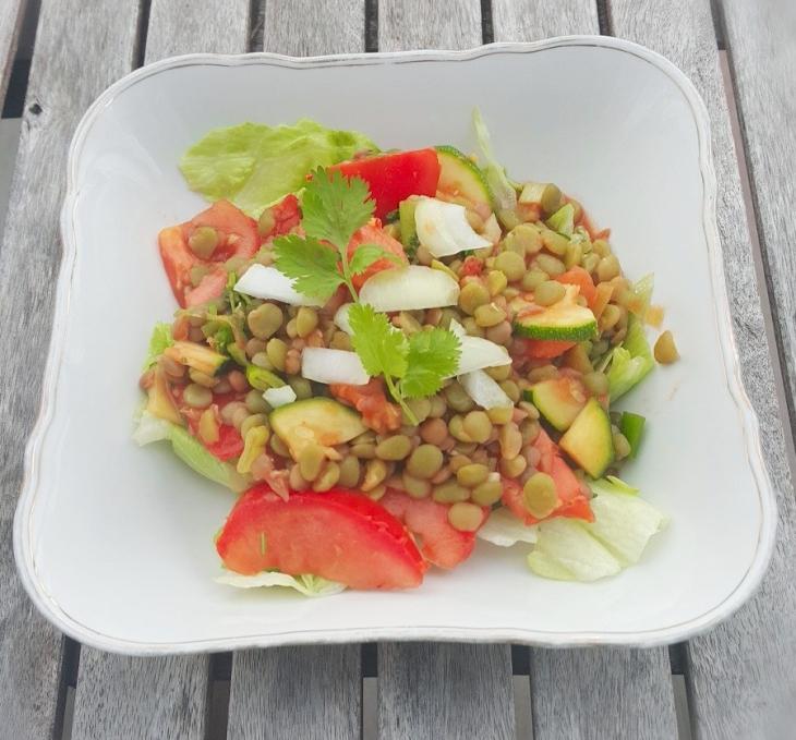 Peas Salad