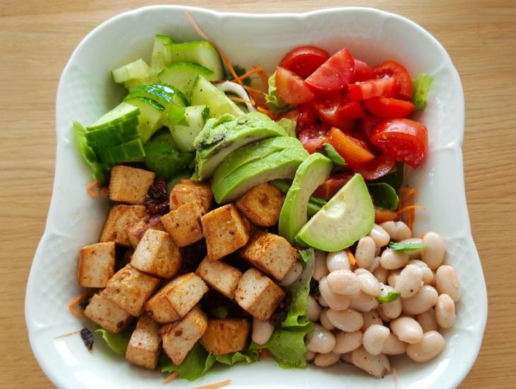 Tofu Avocado Bowl